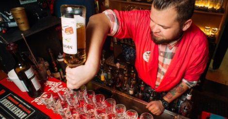 Георгий — выпускник Лиги барменов из далекого 2017 года